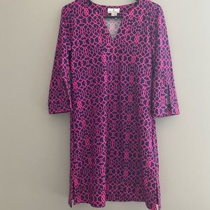 Jude Connally Dresses - Pink and navy Jude Connelly dress